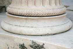 Base of an Ionic Column from the Erechthion