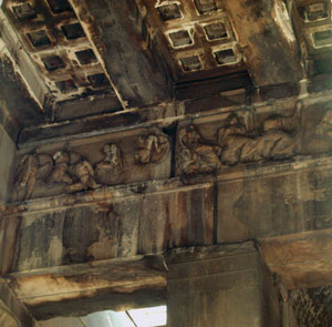 Ceiling of the porch of the Hephaistion. Athens