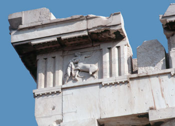 Metopes & Triglyphs from the Parthenon, Athens