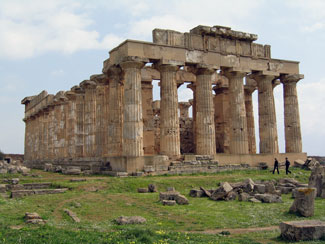 Temple of Hera at Selinunte Sicily