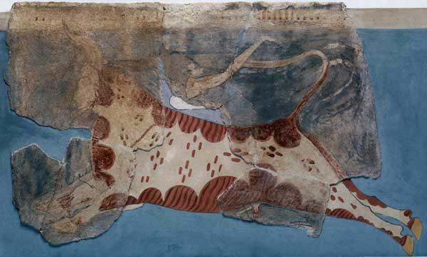 Bull Leaping Scene. Tiryns