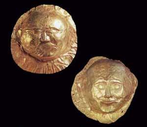 Gold Masks from Circle A. Mycenae