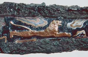 Decorated Sword Blade from Mycenae