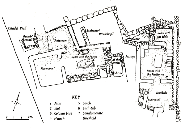 Plan of the Cult Buildings