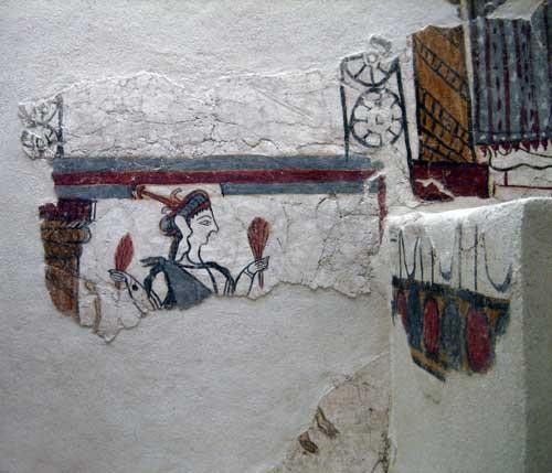 House of Frescoes. Presentation Scene