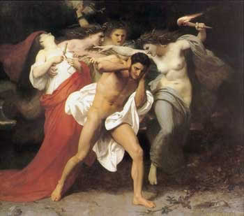Orestes Pursued by the Furies.William-Adolphe Bouguereau