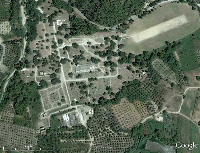 GoogleEarth view of the Altis