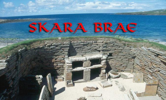Skara Brae. A Prehistoric Village in Orkney