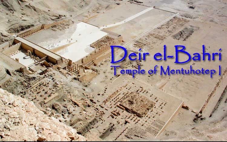 Deir el-Bahri. Photo ©Nowic