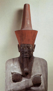 Statue of Mentuhotep I from Deir el-Bahri