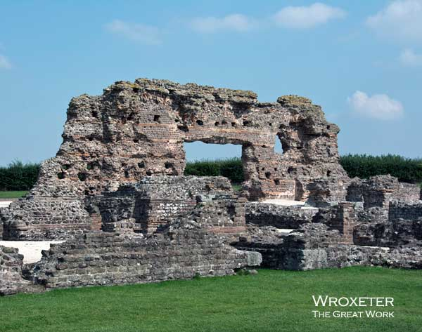 Remains of Roman Baths at Wroxeter